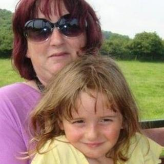 April Jones and her mother Coral