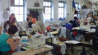 Middleport Pottery workshop