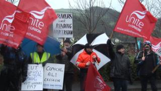 Isle of Man bus strike