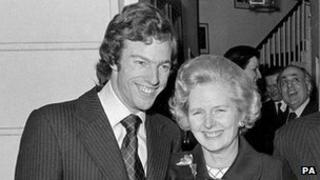 Mark and Margaret Thatcher