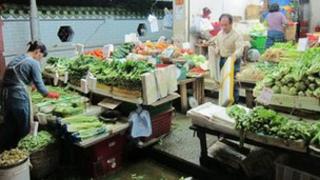 Food stall in Hong Kong