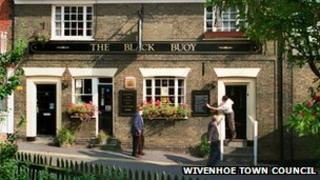 Black Buoy pub, Wivenhoe