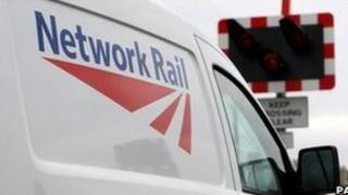Network rail van