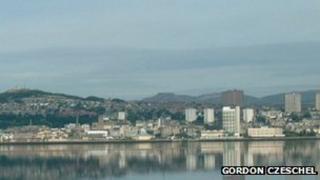 Dundee riverside