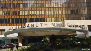 The Mount Elizabeth hospital in Singapore