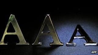 Triple A letters
