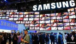 Samsung at previous CES