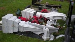 Headstones knocked over at Norwich cemetery and crematorium