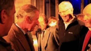 Prince Charles at concert