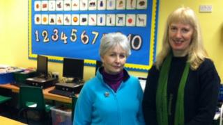 Annette Blyth and Sally Kyles
