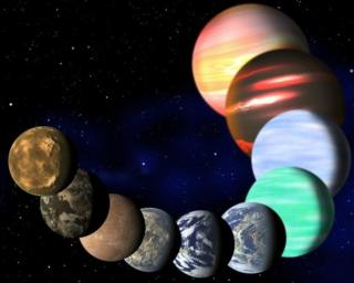 Visualisation of different types of planets in Milky Way, by Harvard-Smithsonian Center for Astrophysics
