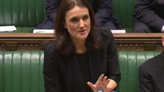 Theresa Villiers in Commons