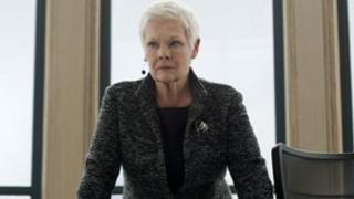 Dame Judi Dench in Skyfall