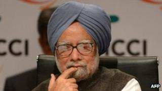 File photo: Indian PM Manmohan Singh