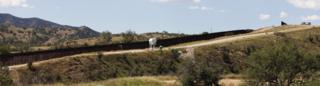 A border patrol at Nogales, Arizona