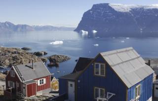 Uummannaq village, Greenland - file pic