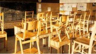 1970s classroom