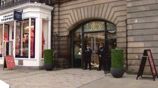 Rox in George Street in Edinburgh