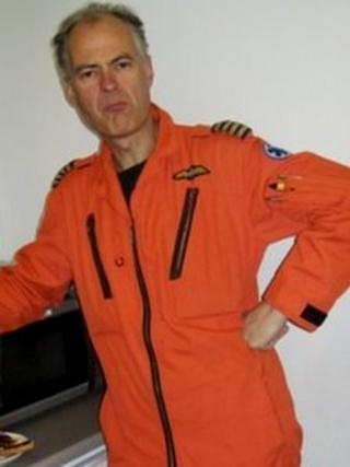 Pilot Pete Barnes
