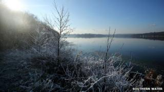 Bewl Water in January 2013
