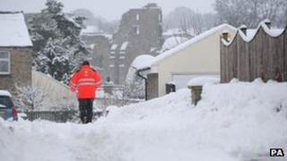 Postman in County Durham