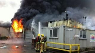 Campsie fire