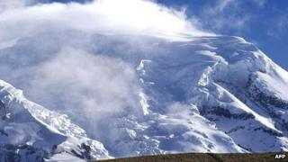 Peru glacier
