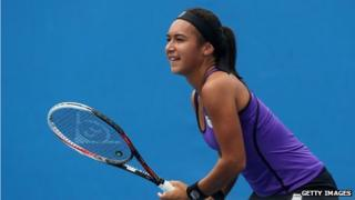 British women's No.1 Heather Watson