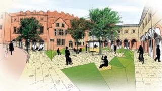 Idea for revamp of Tunbridge Wells Market Square