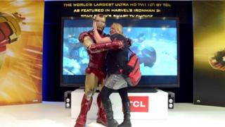 TCL Ironman at CES 2013