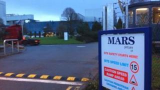 Mars Petcare plant in Peterborough
