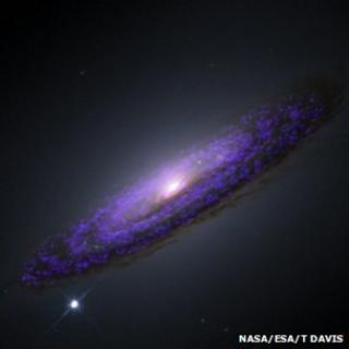 Hubble image of NGC4526