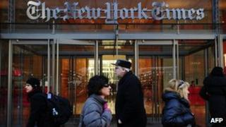 New York Times building (March 2011)