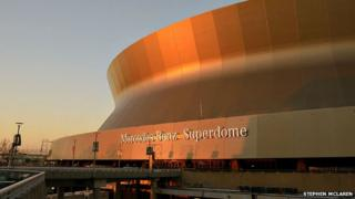 The Superdome in New Orleans