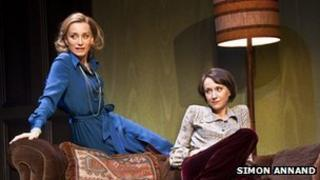 Kristin Scott Thomas and Lia Williams in Old Times