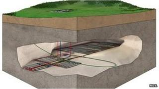 Nuclear waste store plans