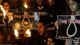 Protesters in Delhi - 19 December