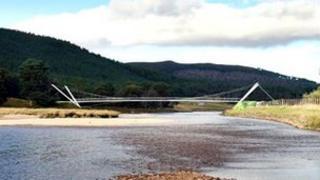 Image of planned bridge