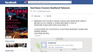 East Essex Cruizers Facebook page