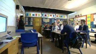 Secondary school class