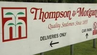 Thompson and Morgan seed suppliers
