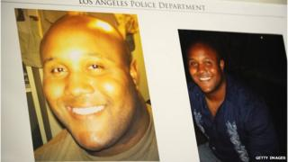 Photos of Christopher Dorner
