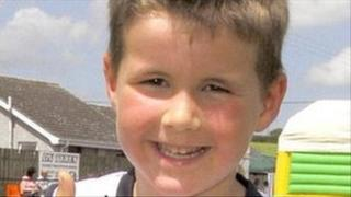 Six-year-old Stuart Wilson died after being struck by a speedboat