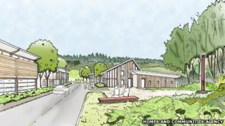 An artists' impression of the Northern United site