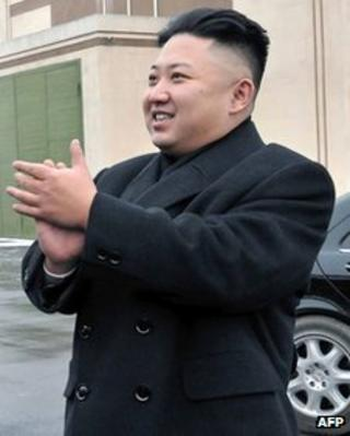 North Korean leader Kim Jong-un file picture