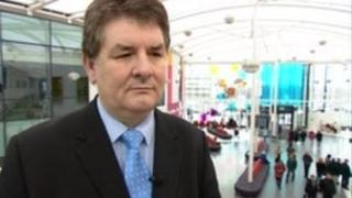 Eric Morton interim chief executive of the Sherwood Forest Hospitals Trust