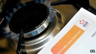 EDF Gas bill