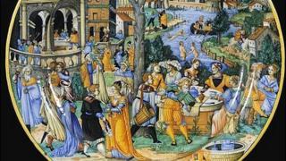 Urbino plate, circa 1540