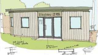 An artists' impression of how the new parlour will look