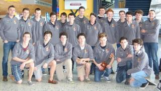 Students from Guernsey's Elizabeth College